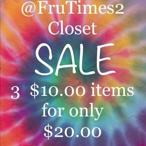 SALE!  Just make it as an offer and I will accept!